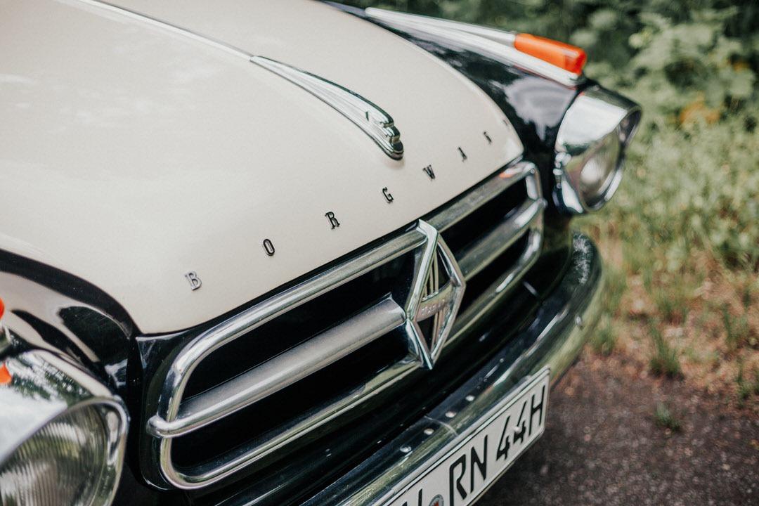 Borgward Oldtimer für Hochzeit in Hessen