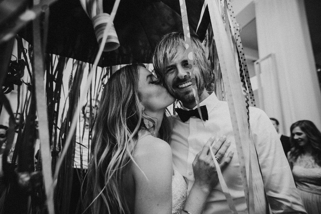 Authentische Hochzeitsparty Fotografie-Reportage