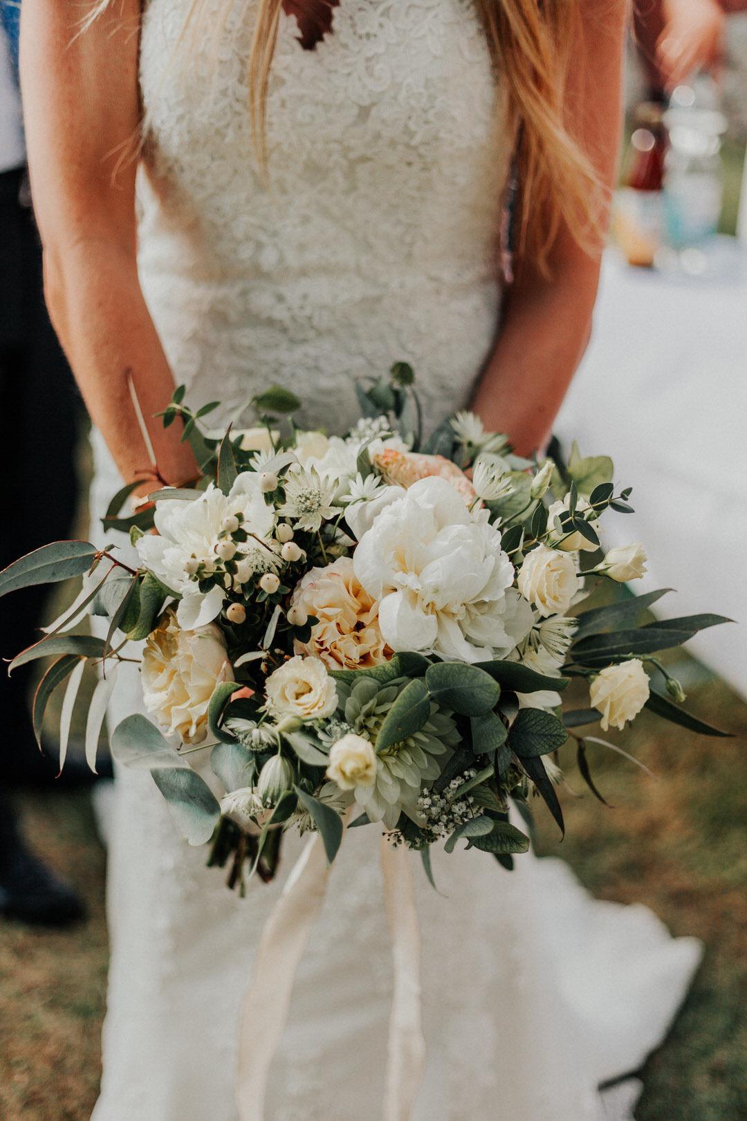 Bohemian-Style Hochzeits-Brautstrauß in Limburg