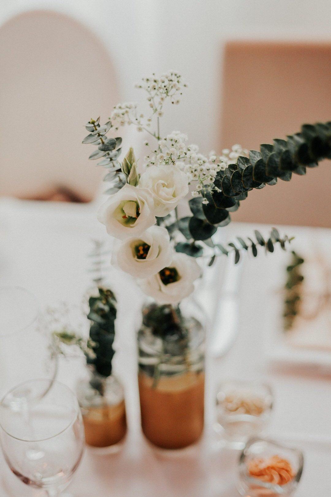 Boho-Hochzeitsdekoration für Hochzeitsfeier im Little-Kitchen in Limburg an der Lahn