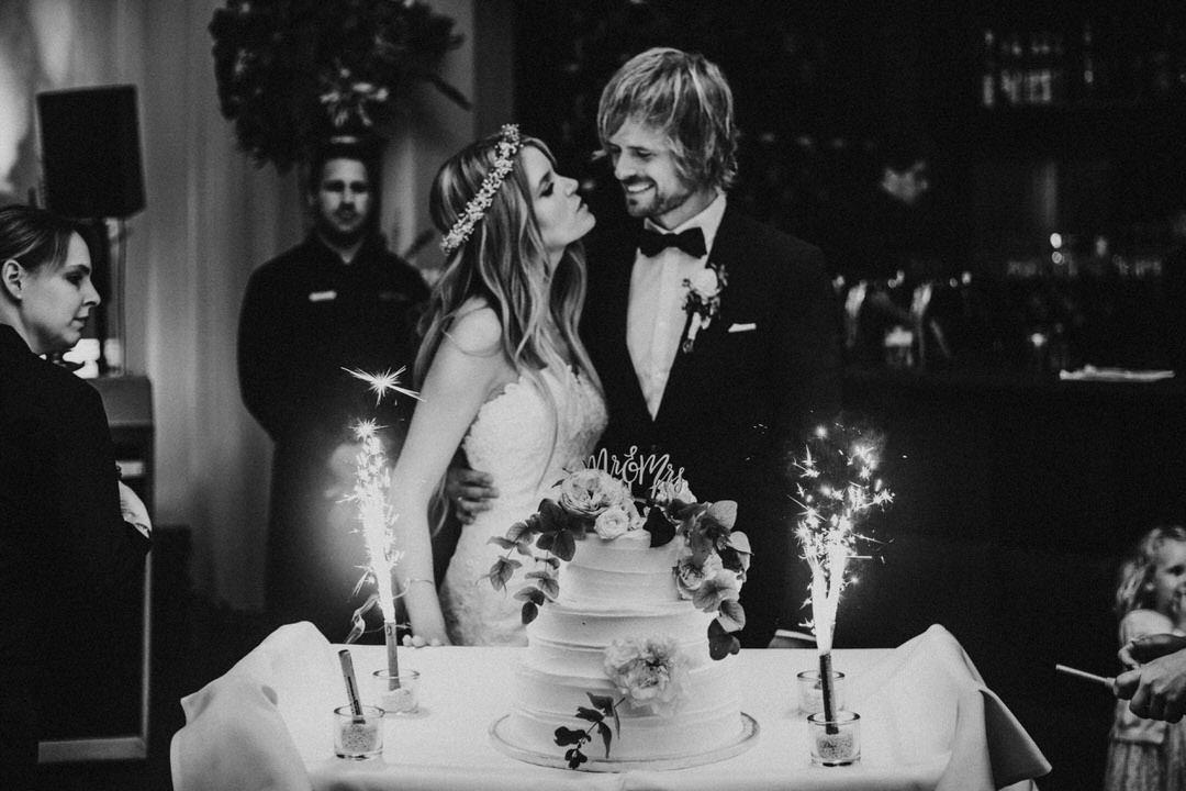 Boheman Style Hochzeitstorte