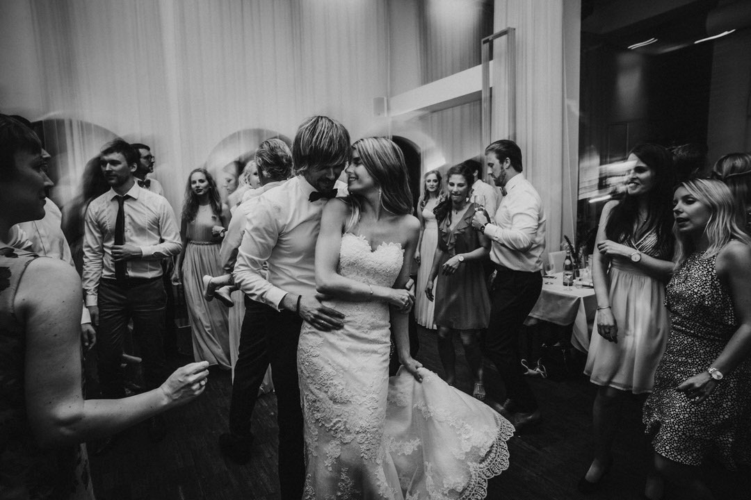 First Dance Moment at a Boho-Wedding in Germany