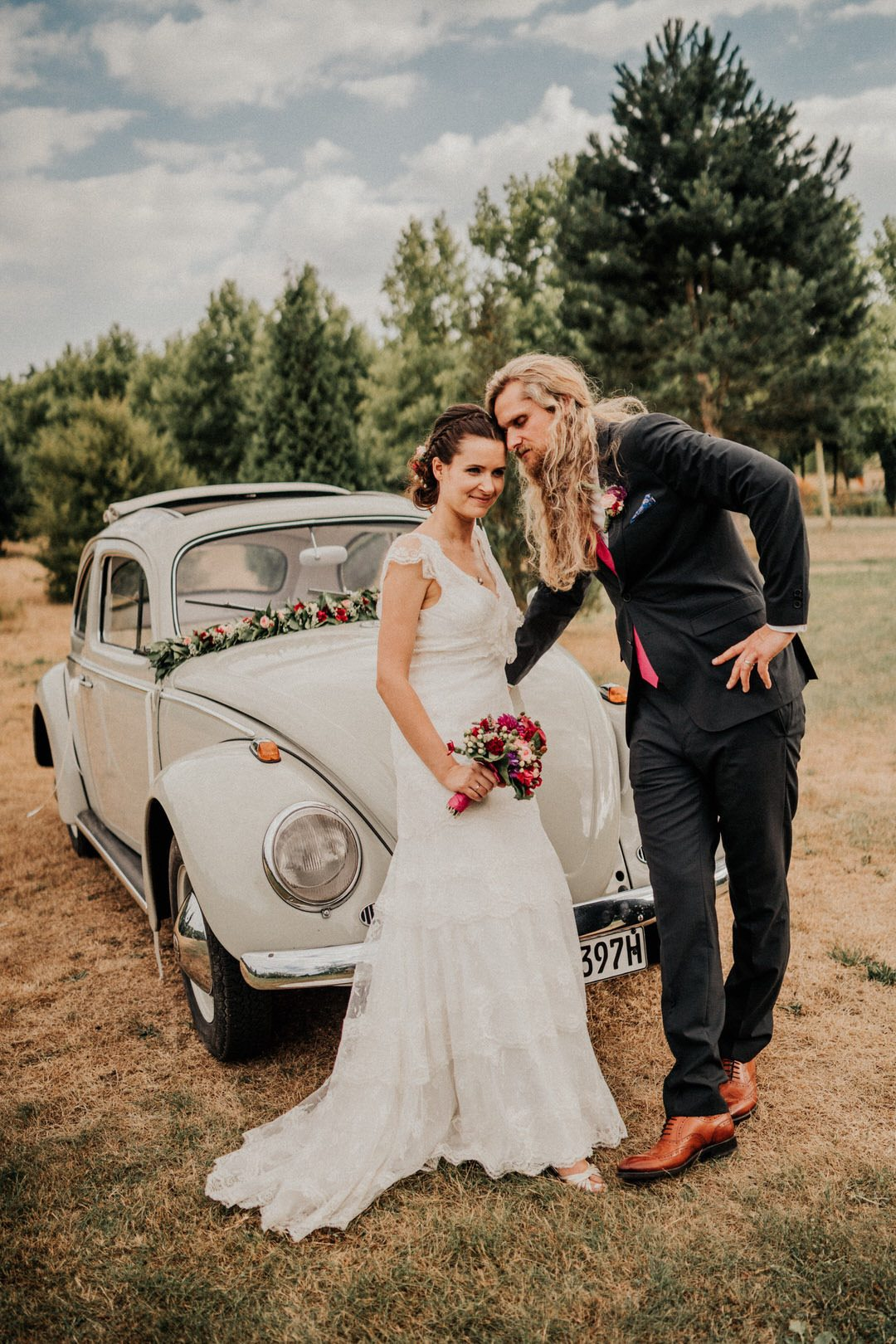 Hochzeitsoldtimer für Paarbilder in Frankfurt am Main