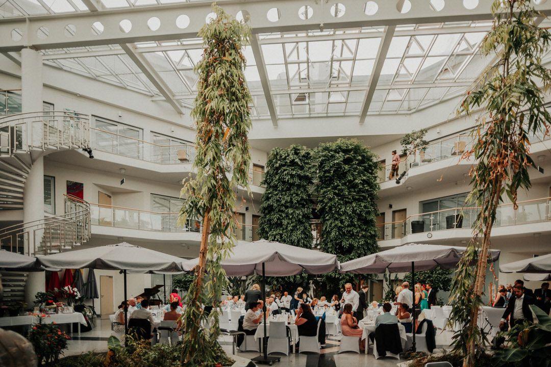Hochzeits-Location in Frankfurt im Hotel Artrium am Park