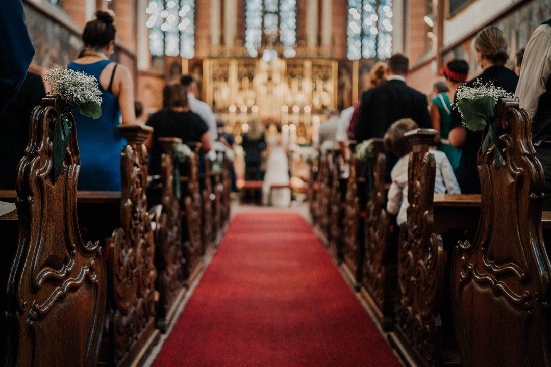 Heiraten in der Deutschordenskirche in Frankfurt, Hochzeit 2020