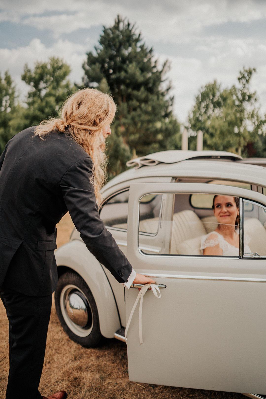 Oldtimer für Hochzeit in Frankfurt