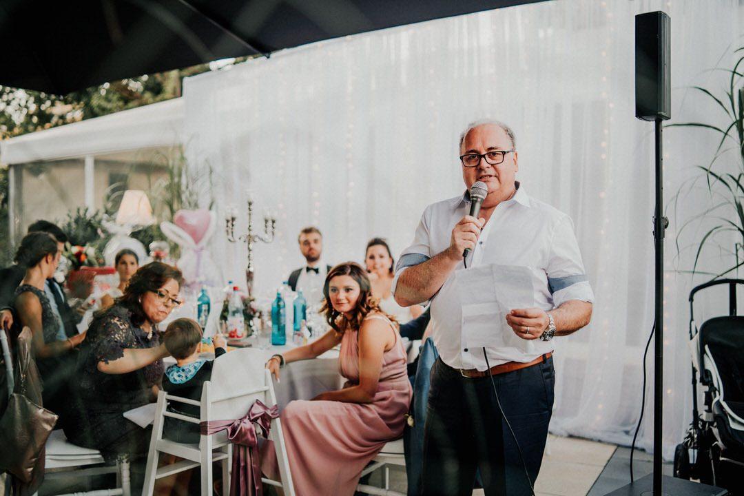 Ansprache des italienischen Brautvaters bei der Hochzeitsfeier in Gießen