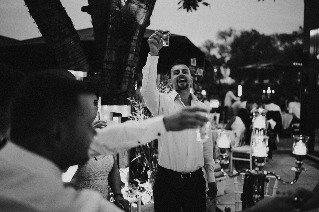 Temperamentvolle Party bei italienischer Hochzeit in Gießen