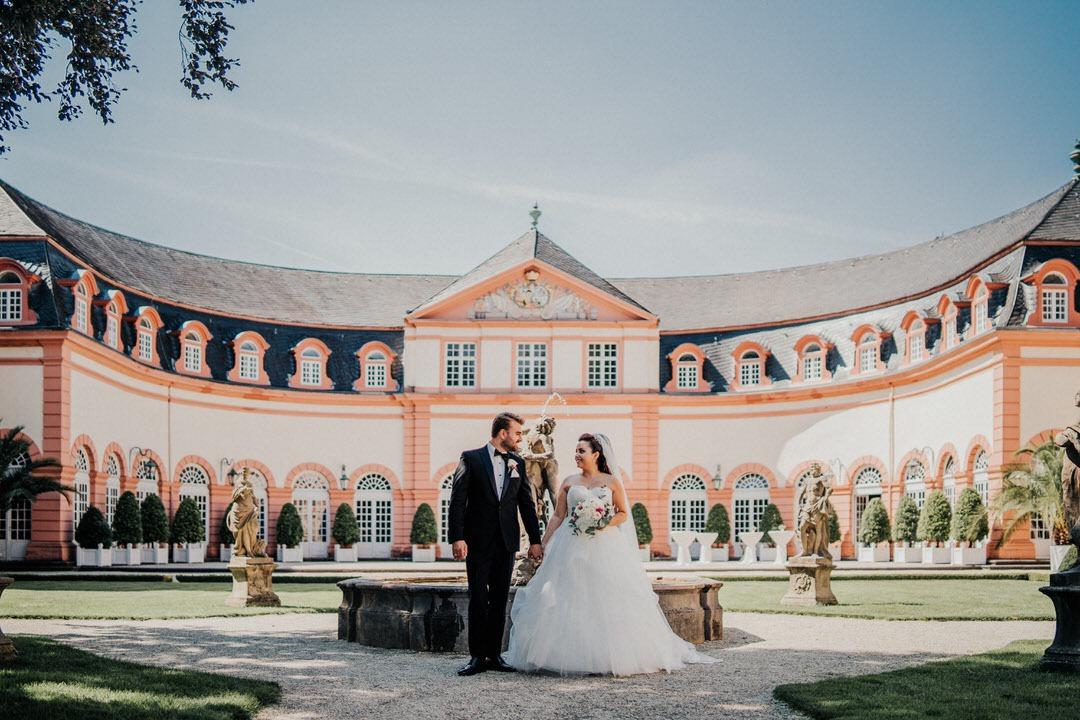 Hochzeitsbilder im Barocken Schlossgarten Weilburg