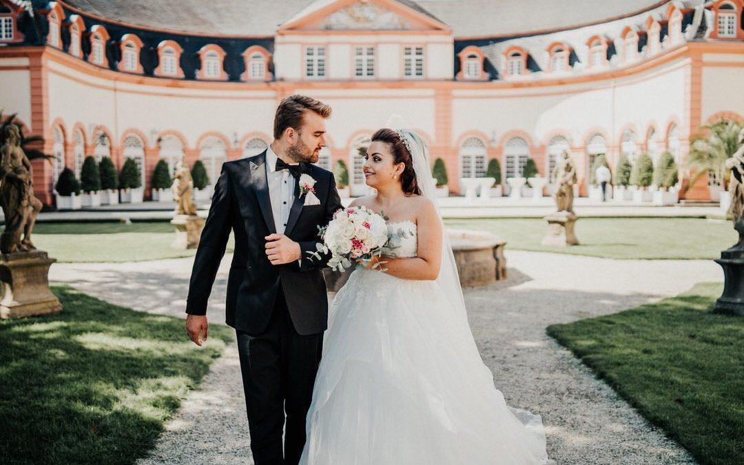Herzliche italienisch-deutsche Hochzeit im wetzlarer Dom