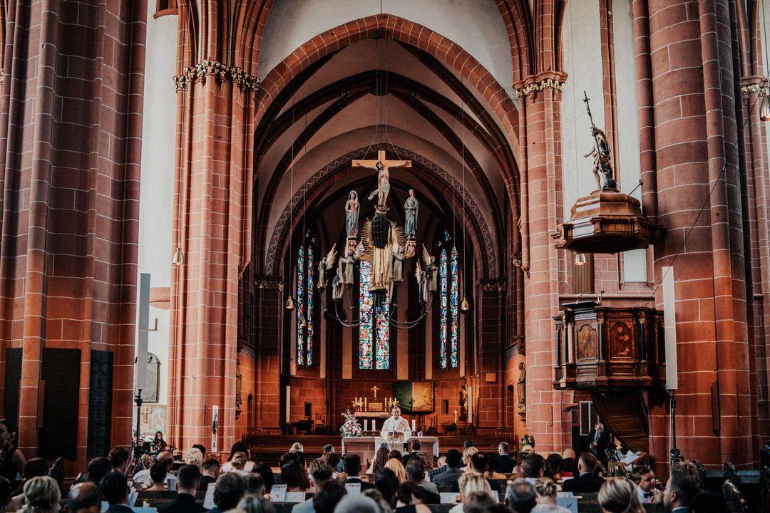 Kirchliche Trauung im Dom in Wetzlar