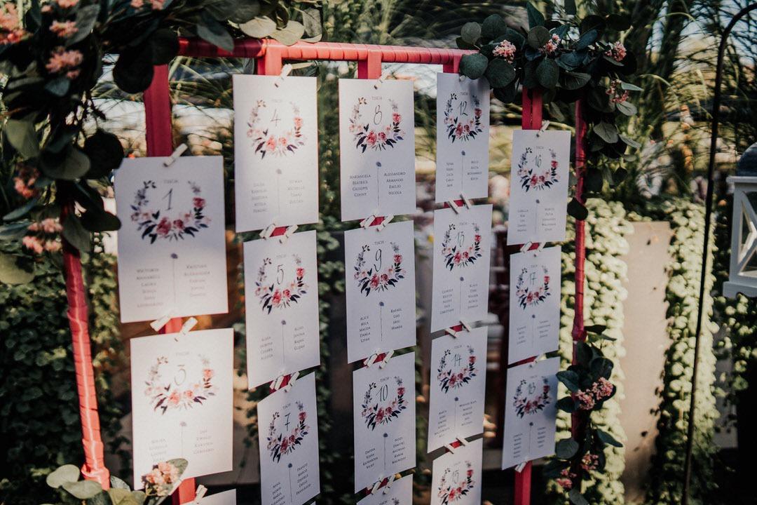 Detailfotos von der Hochzeitsdekoration bei einer italienisch-deutschen Vintagehochzeit in Gießen, Dekoration von deko-line.blog