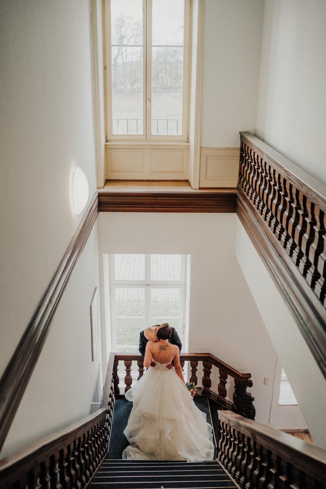 Die Villa Clementine, standesamtliche Hochzeits-Location für Winterhochzeiten in Wiesbaden, Hessen.