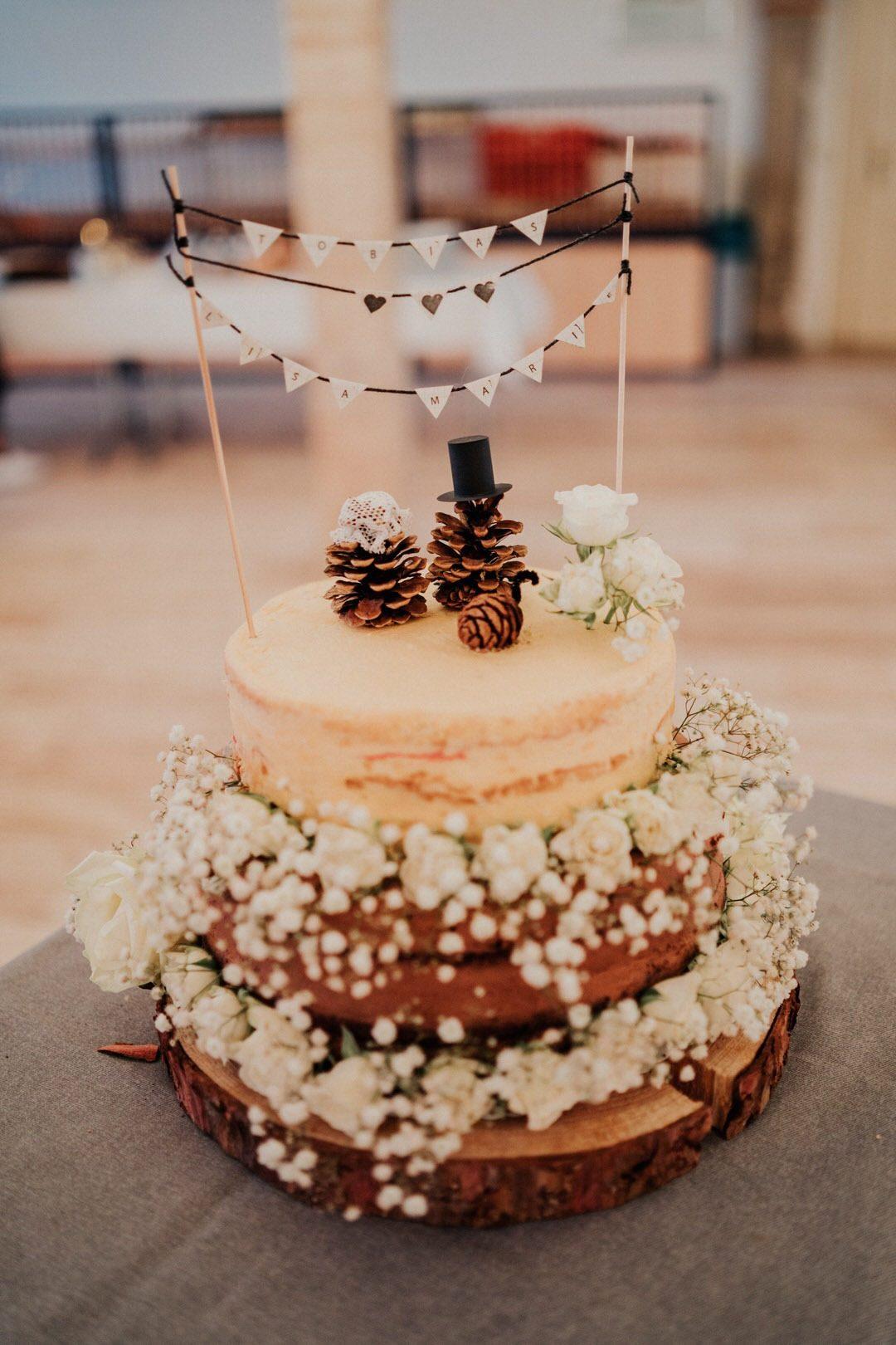 Ideen für Hochzeitstorten im Winter für Winterhochzeiten in Deutschland