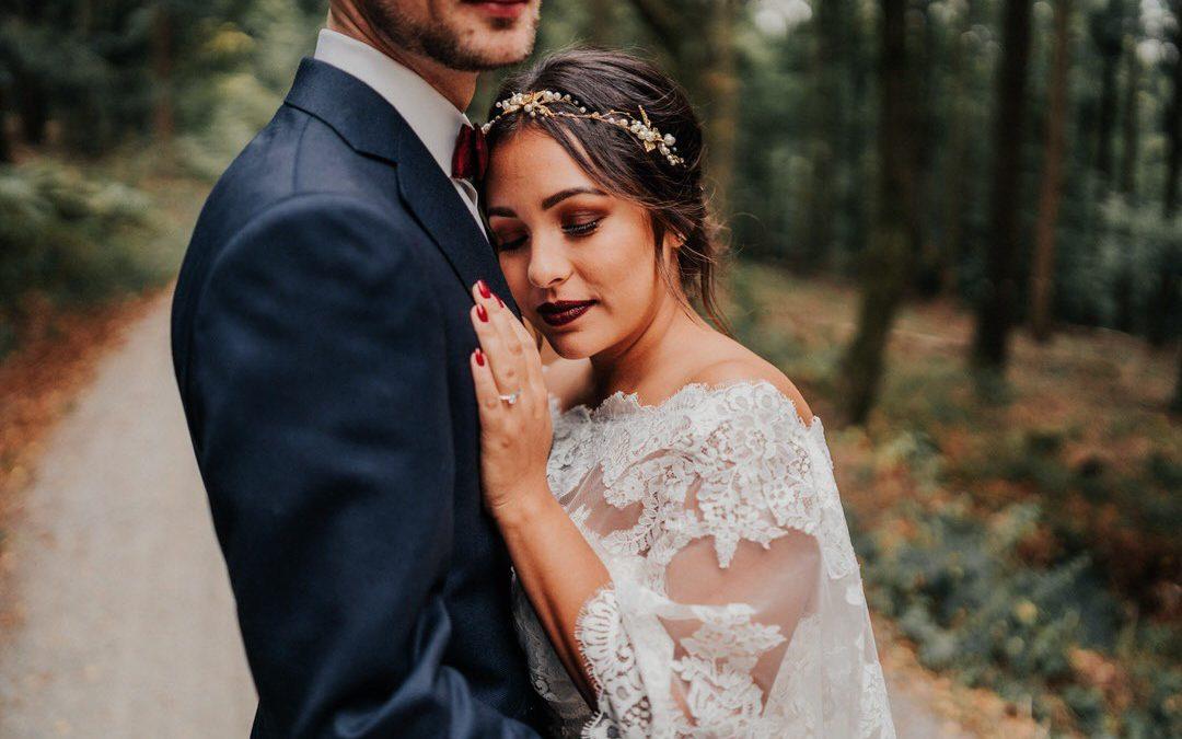 Boho Hochzeitsfoto-Reportage im wunderschönen Jagdschloss Platte – Wiesbaden