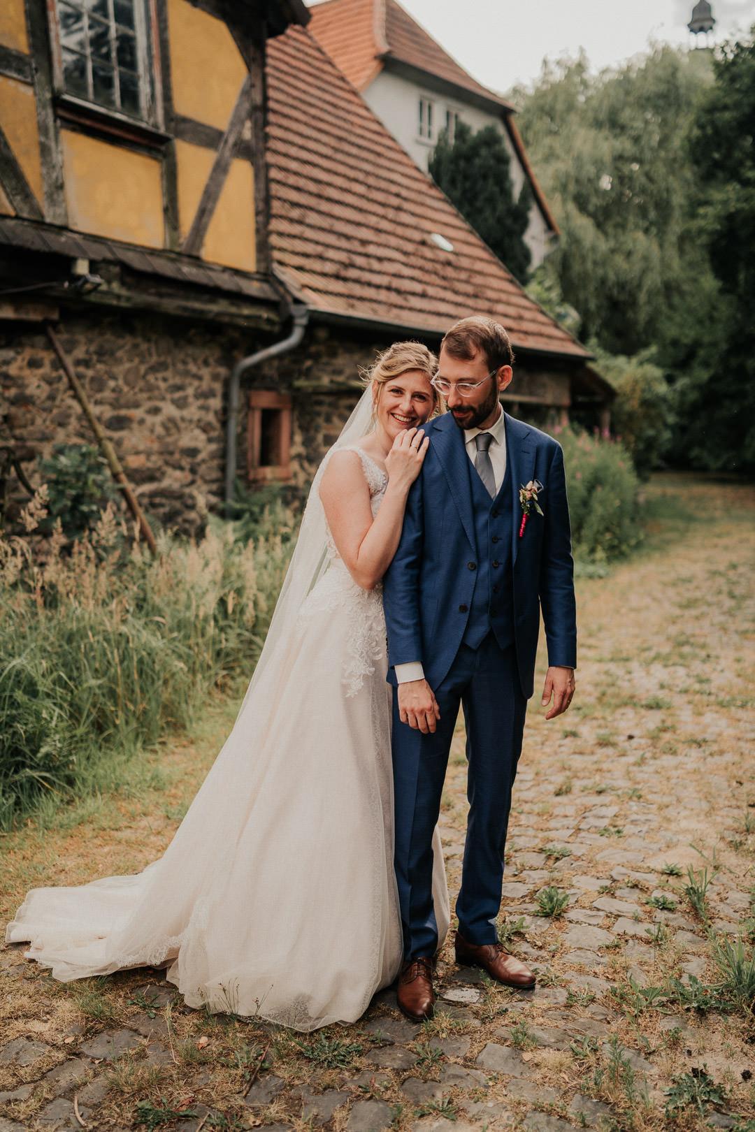 Hochzeitsfoto-Shooting beim Schloss Romrod in Alsfeld