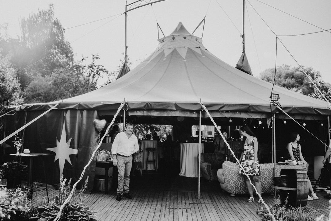 Hochzeitslocation Café Blütezeit Limburg – Zirkuszelt als besondere Location