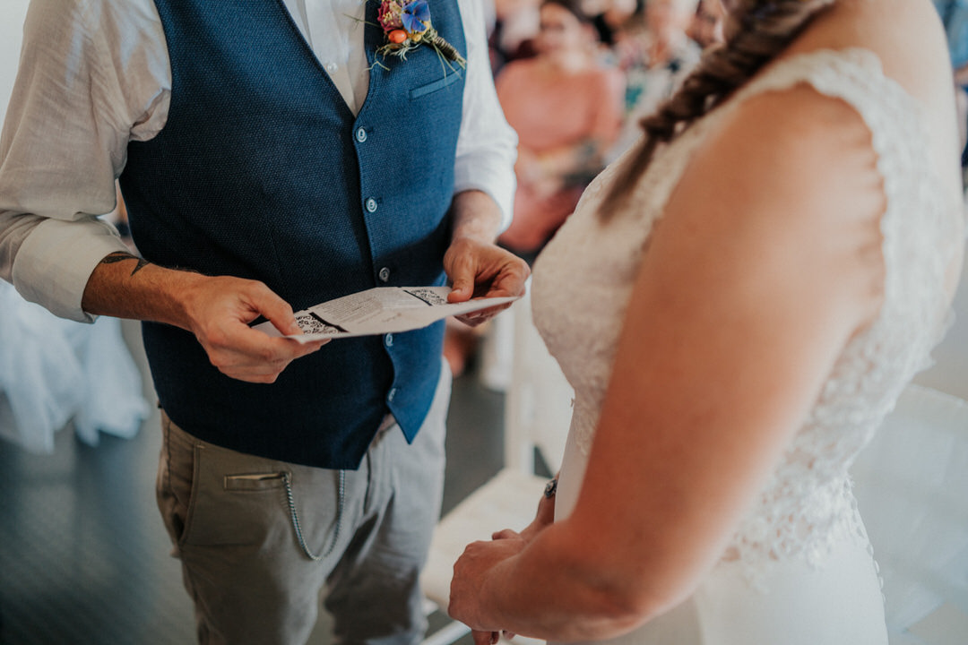 Persönliches, emotionales Eheversprechen