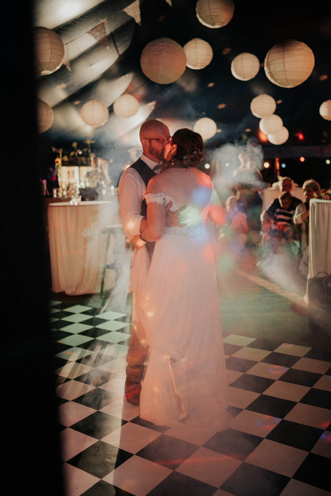 Hochzeitstanz im Café Blütezeit