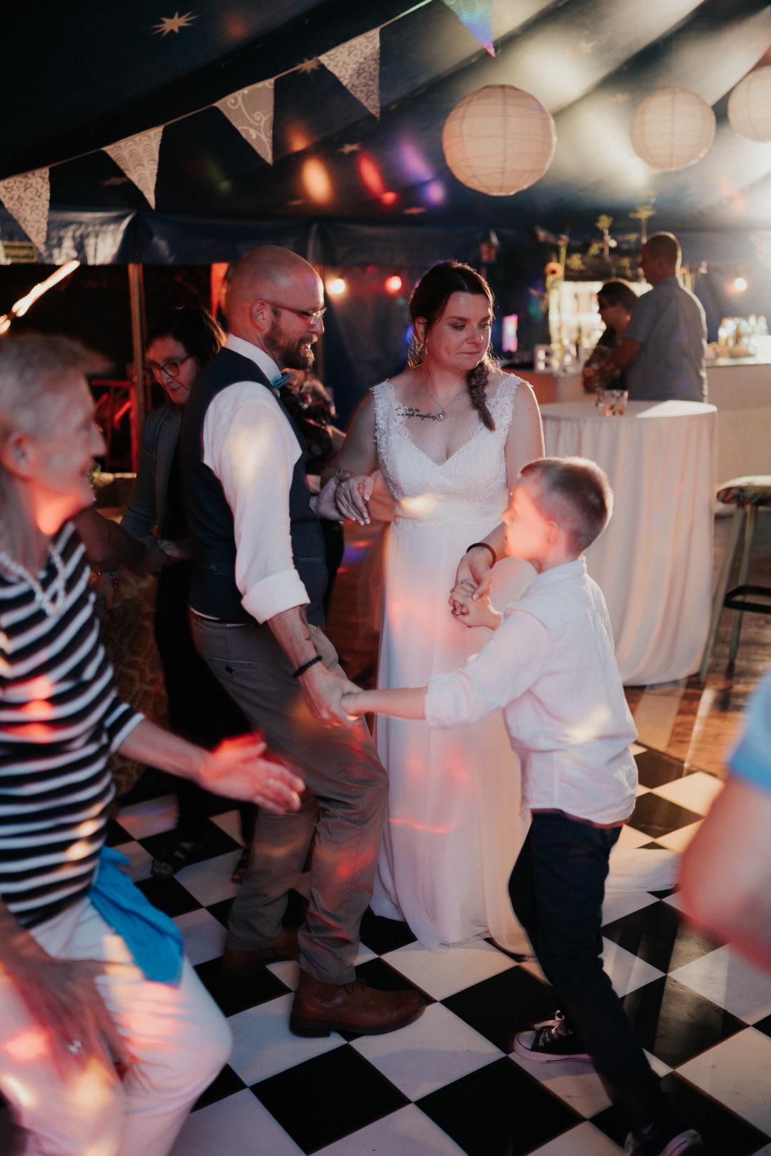 Hochzeitsparty im Café Blütezeit