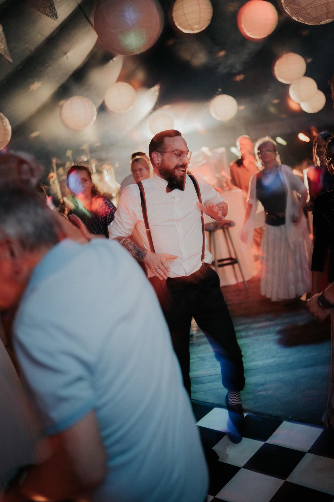 Hochzeitsparty Momente