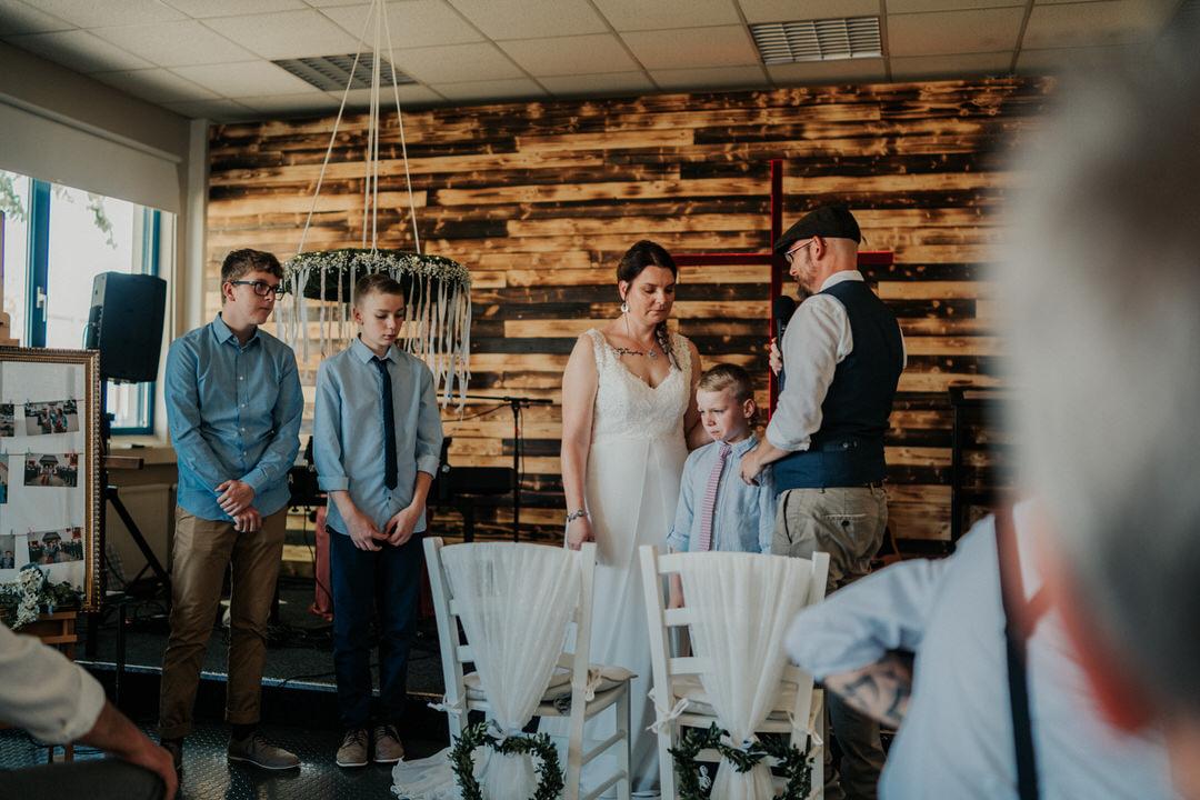 Patchwork Familien Hochzeit